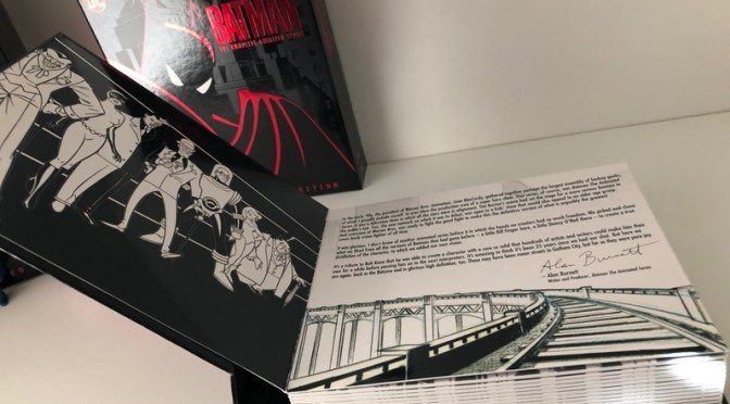 Ficha técnica del Blu-ray de Batman the Animated Series y todo lo que debes saber