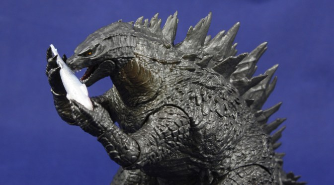 Shipping This Week NECA Head-To-Tail Action Figure 2014 Godzilla Roar Sound
