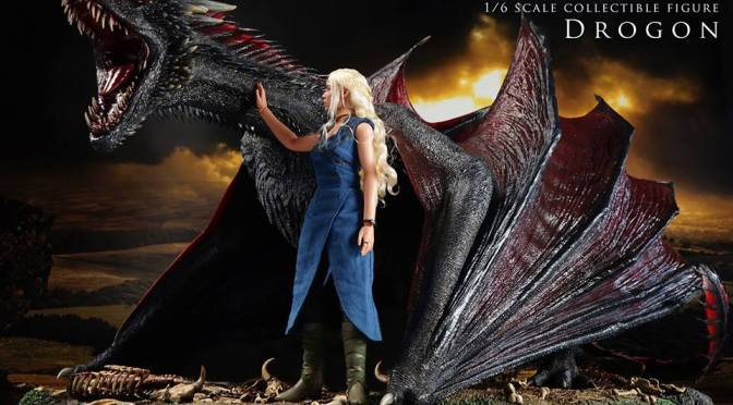 ThreeZero nos presenta su nueva figura de Game of Thrones: Drogon