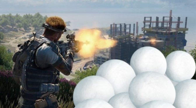 "Bolas de nieve llegan a ""Blackout"" Call of Duty: Black Ops 4"