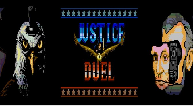 (MegaCat Studios) Justice Duel: Four score and seven years in the future