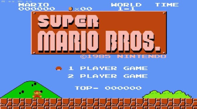 Retro Gaming: Super Mario Bros. NES