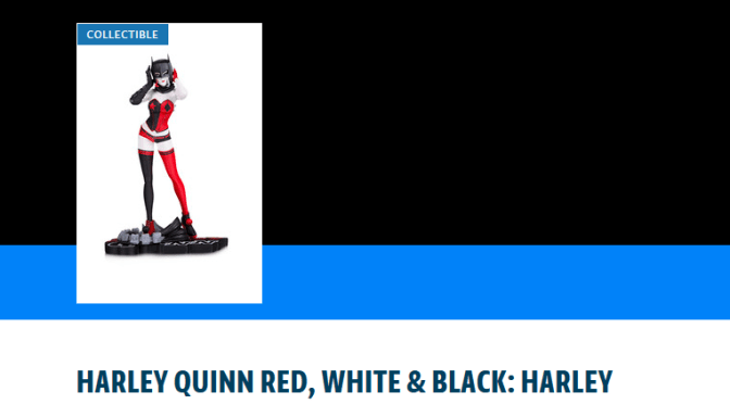 PREORDER NOW DC Collectibles Harley Quinn Statue, designed by John Timms