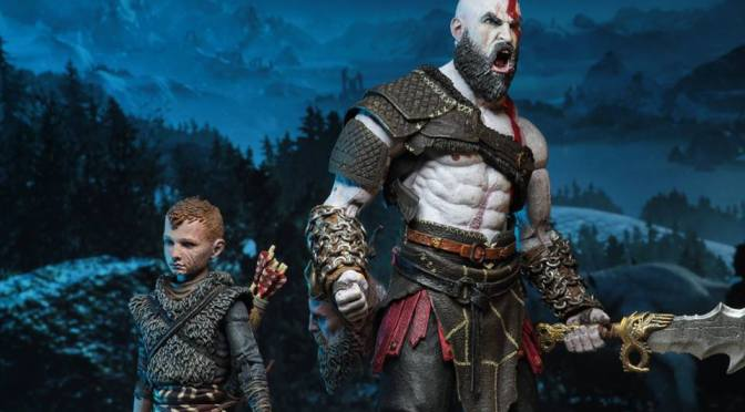 Neca God of War Ultimate Kratos & Atreus 2-Pack is now available