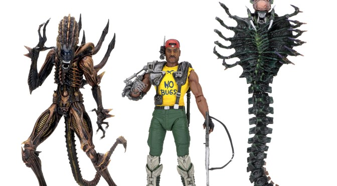 The NECA Kenner themed Aliens Series 13 action figures will be shipping in February