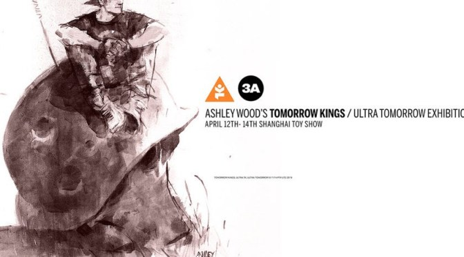 3A celebrates  Ashley Wood's Tomorrow Kings  with an Exhibition