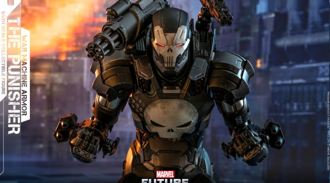 Preorder Now The Punisher (War Machine Armor) 1/6 Hot Toys – Marvel Future Fight