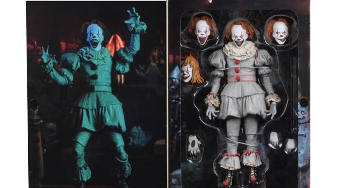 IT Movie 2017 Well House Pennywise! Enjoy these final packaging from NECA