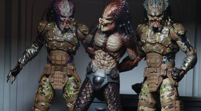 The Predator (2018) – 7″ Scale Action Figure – Ultimate Fugitive Predator (Lab Escape)