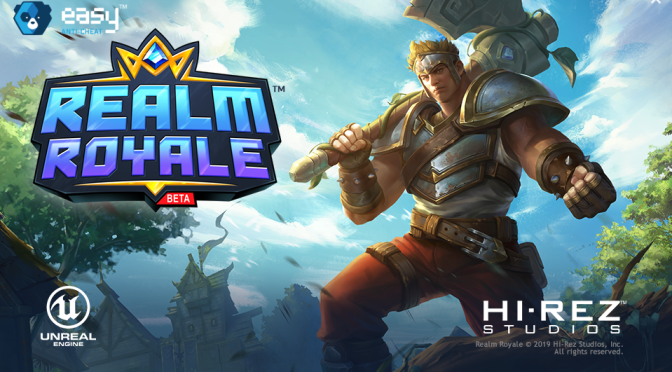 "Review de Realm Royale (Steam), un juego que ""compite"" entre los battle royale"