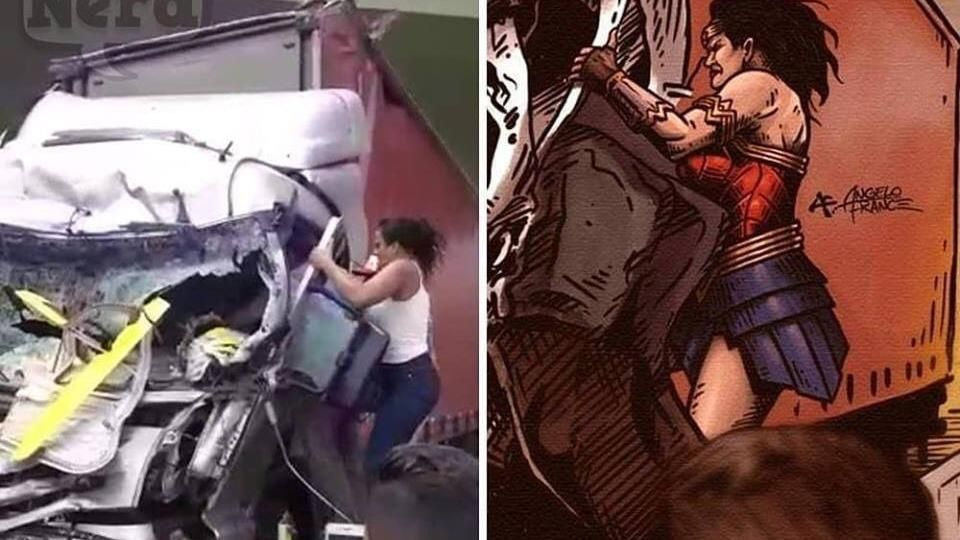 ¡AMAZONA DEL AMAZONAS! La Wonder Woman de la vida real.