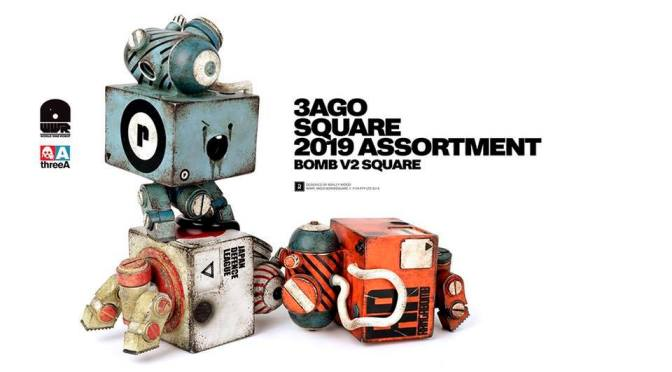 3AGO BOMB V2 Square Set preorders – March 15th on WO3A.com and 3A Retailers