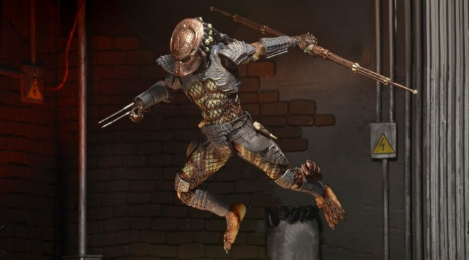 ¡Ya está disponible la nueva figura de Predator Ultimate City Hunter!