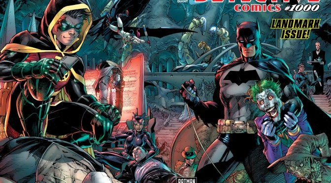 (C506) (Spoiler) Especial Detective Comics 1000, Return to Crime Alley.