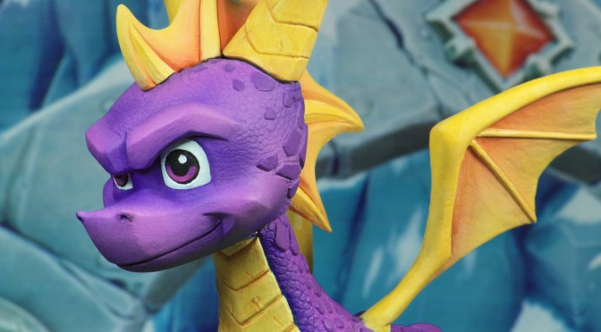 NECA: Shipping This Week – Spyro The Dragon Action Figure!