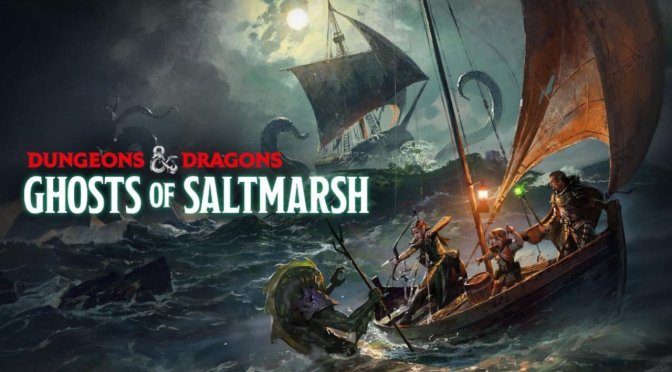 (C506) DUNGEONS AND DRAGONS : La ciudad de Saltmarsh