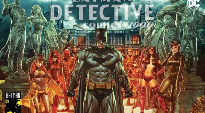 (SPOILER) ESPECIAL DETECTIVE COMICS 1000: The last crime in Gotham