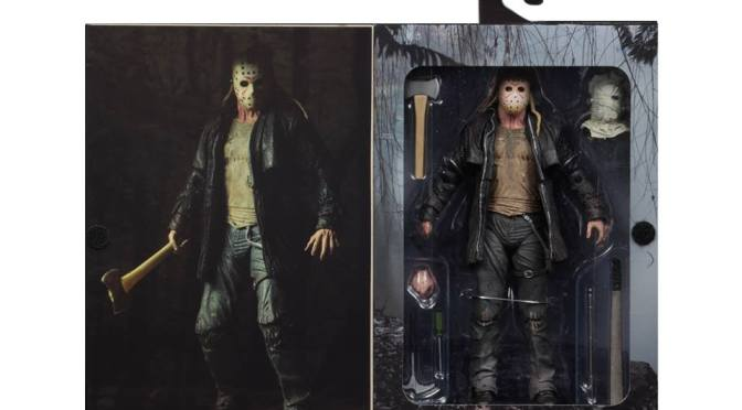 The final packaging photos are here for Ultimate Friday the 13th 2009 Remake Jason