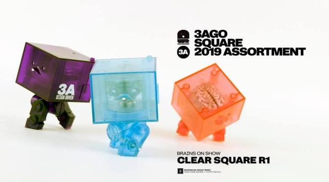 3AGO Clear Squares are coming May 10th to the 3A Store!