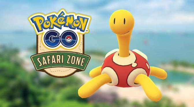 (C506) Pokémon GO: ¡El regalo de un Safari Zone!