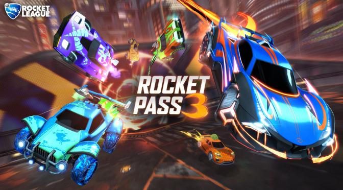 Psyonix Announces Esports Shop Update, Rocket Pass 3 Date For Rocket League