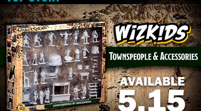 WizKids Deep Cuts: Townspeople and Accessories