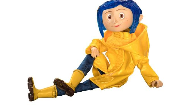 NECA: Stripe Shirt & Rain Coat Coraline are available on eBay & Amazon