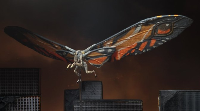 Now available in limited quantities: 12″ Wing-to-Wing Mothra Action Figure!