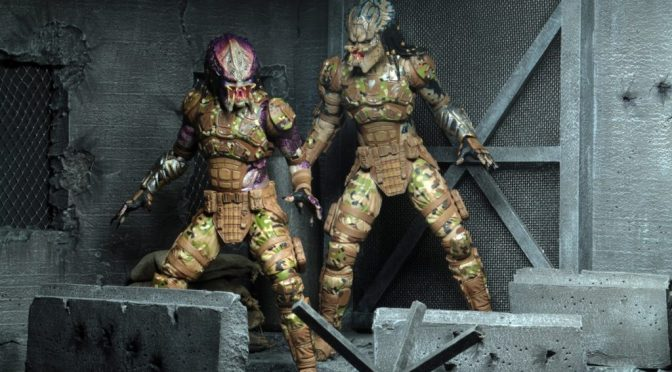 "NECA: Predator (2018) – 7"" Scale Action Figure – Ultimate Emissary #1"