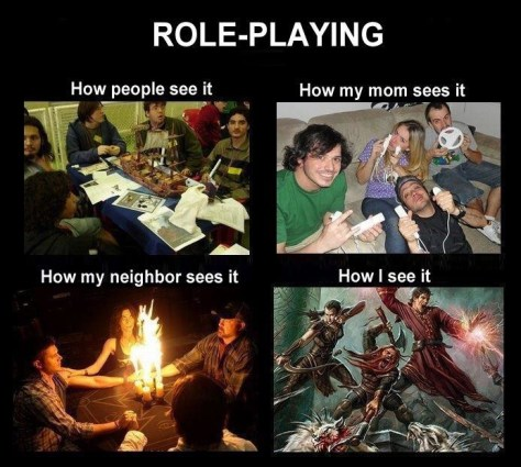 Roleplaying how people see it