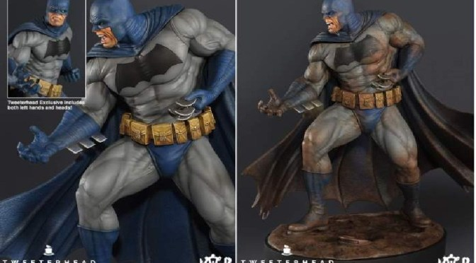 "Tweeterhead: ""Dark Knight"" 1/6 th Batman Maquettes"