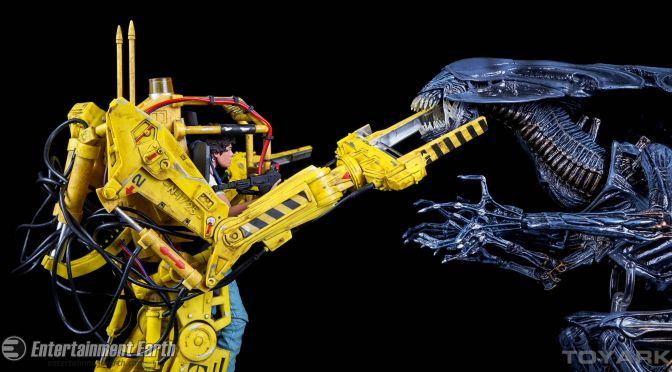 NECA Closer Look: Aliens P-5000 Power Loader Deluxe Vehicle
