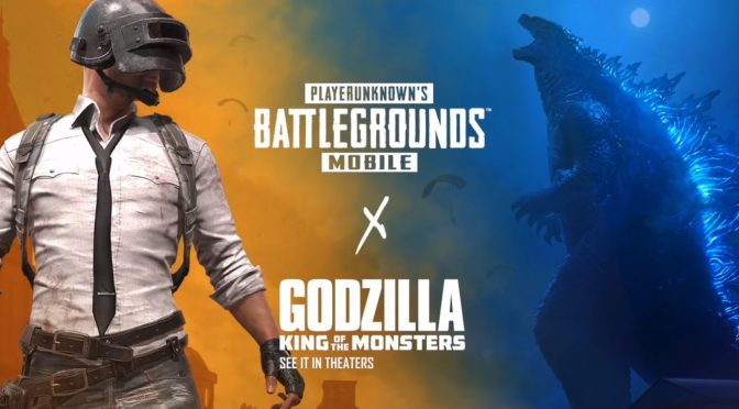Godzilla: King of the Monsters llega a PUBG mobile