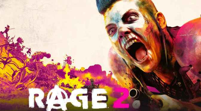 Rage 2: ¡Ya está disponible!