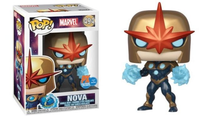 PREVIEWS Exclusive Marvel Nova Prime Funko POP!