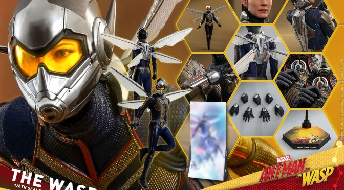 Comprar Ahora: The Wasp Figura 1/6 Hot Toys The Wasp UCM Marvel