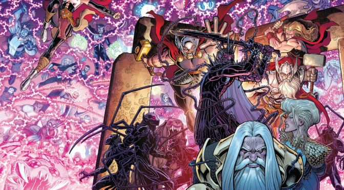 War of the realms, Thor y muchos otros títulos de Marvel regresan a la imprenta