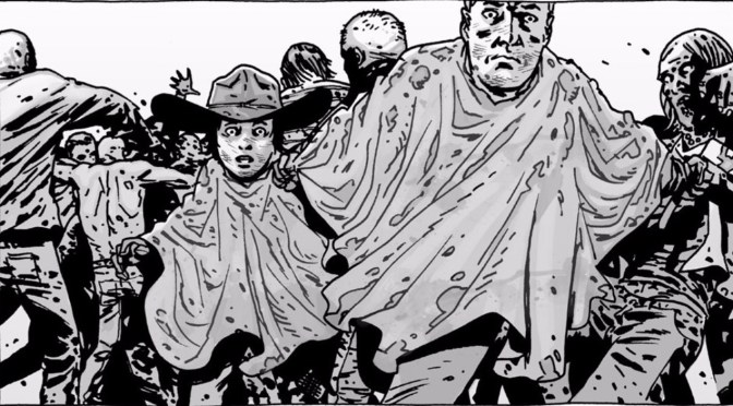 Una gran teoría se confirma desde el comic de The Walking Dead, lo predijimos!