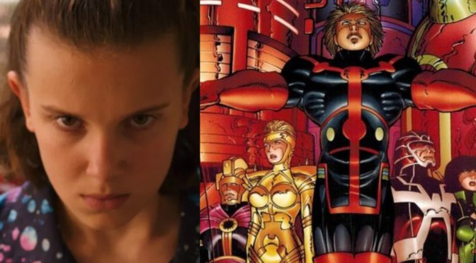 Millie Bobby Browns se une al elenco de The Eternals
