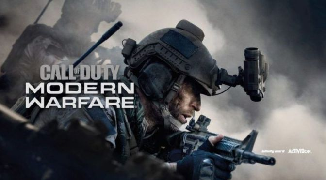 Gamescom tendrá importantes noticias sobre Call of Duty: Modern Warfare