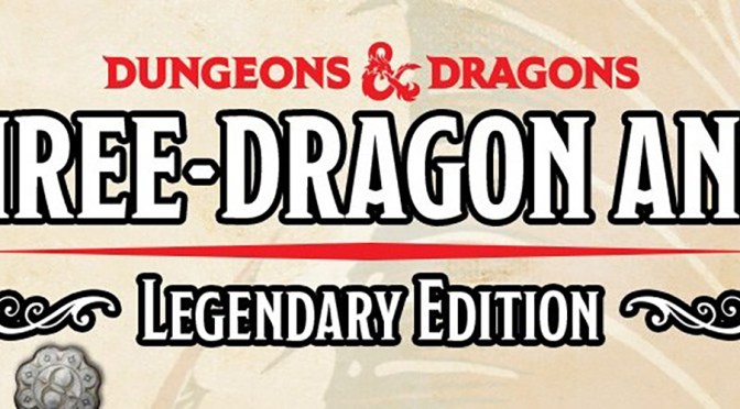Gather the Biggest Hoard of Gold in Three-Dragon Ante Legendary Edition— Coming Soon!