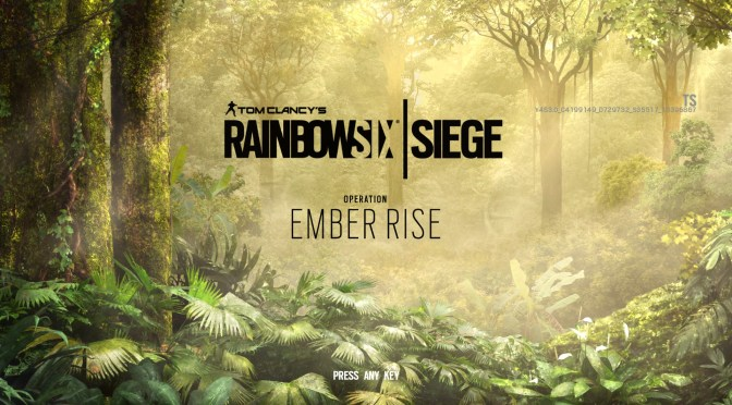 "Rainbow Six Siege revela ""Operation Ember Rise"""