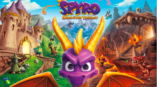 SPYRO REIGNITED TRILOGY ARRANCA EN NINTENDO SWITCH Y STEAM EN SEPTIEMBRE