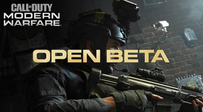 ¡La Beta de Call of Duty: Modern Warfare comienza esta semana!