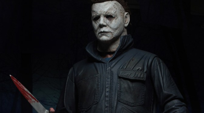 Here are the final packaging shots of the 8″ Cloth Michael Myers