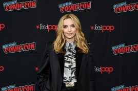 "NEW YORK, NEW YORK - OCTOBER 03: Jodie Comer attends New York Comic Con in support of ""Free Guy"" at The Jacob K. Javits Convention Center on October 03, 2019 in New York City. (Photo by Ilya S. Savenok/Getty Images for Twentieth Century Fox )"