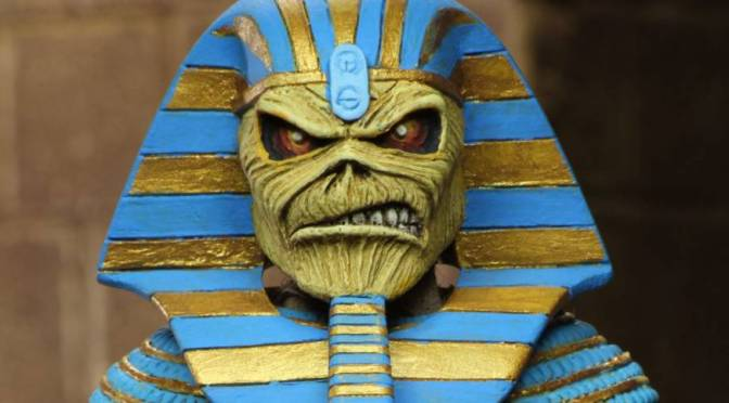 Iron Maiden – 8″ Clothed Action Figure – Pharaoh Eddie
