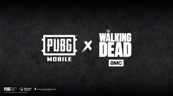 Crossover de Walking Dead con PUBG Mobile, disponible desde hoy.