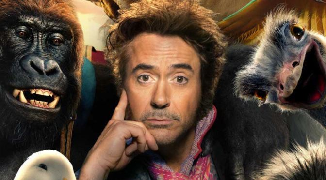 ¡Ya salió el primer trailer de Dolittle con Robert Downey Jr!