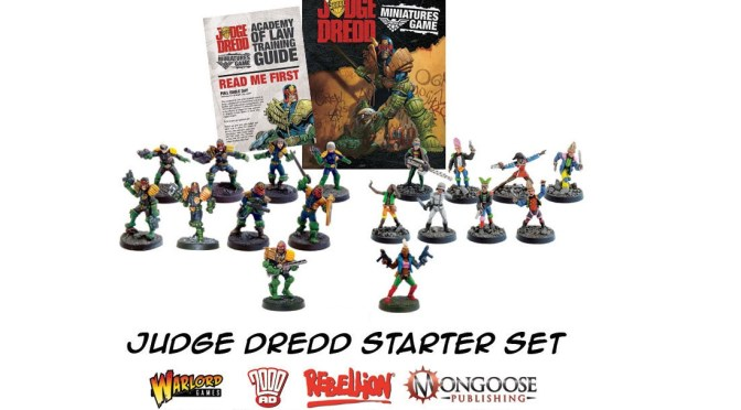 C506 Warlord Games: Judge Dredd, Gangs and Judges – Acción definitiva con el Juez